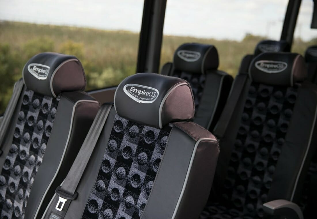 Motorcoach Interior Seats